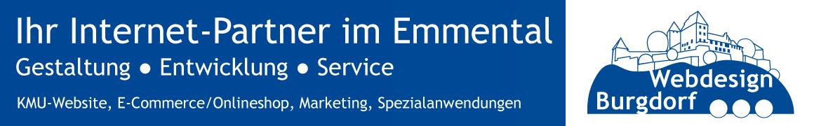 Webdesign Burgdorf - Ihr Internet-Partner im Emmental